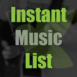 Instant Music List #5