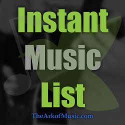 Instant Music List #30